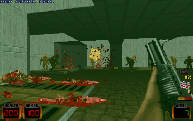 Doom 2 gets mod with Duke Nukem character and weapons!