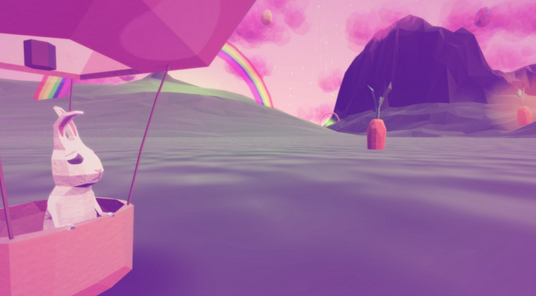 Where Bunnies Fly review – collect Easter eggs from pink clouds!